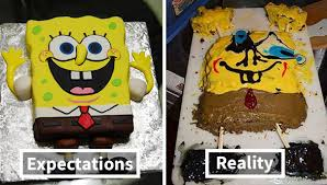 Expectations Vs Reality 25 Birthday Cakes That Are Far From What