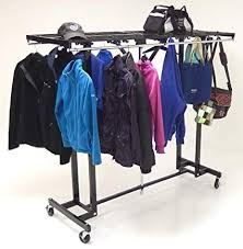 Portable Folding Coat Rack Simple Amazon 32' Wide Portable Folding Coat Rack Office Products