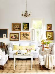 cottage living room lodge decorating