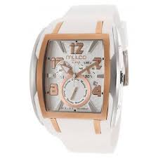 mulco men s blue marine white dial silicone unisex watch watches121 mulco men s deep silver dial chronograph white silicone unisex watch