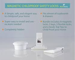 Medicine Cabinet Magnet Amazoncom Rock It Baby Safety Magnetic Locks For Cabinets