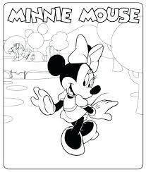 Happy Birthday Mickey Mouse Coloring Pages Baby Page Pictures Acnee