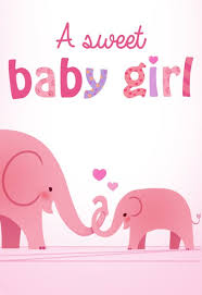 Babygirl Cards Baby Shower New Baby Cards Free Greetings Island