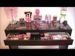 black makeup vanity. black narrow makeup vanity table with cool light, wonderful ideas of