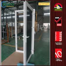 china upvc plastic tempered glass house front safety door design china front door house front door