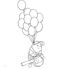 Balloons Coloring Page Pages Book Of Hot Air Shuibugou Xyz