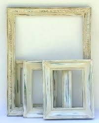 rustic picture frames photo hand distressed wood 16x20