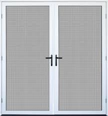recessed mount double meshtec ultimate screen door patio screen door d96 door