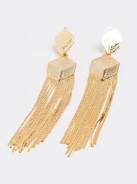 style republic chandelier earrings gold