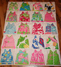 Shift Dress Baby Blanket made with Lilly Pulitzer Fabric & 🔎zoom Adamdwight.com