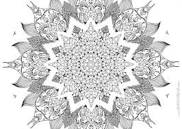 Small Picture Mandala Coloring Pages Hard Coloring Pages