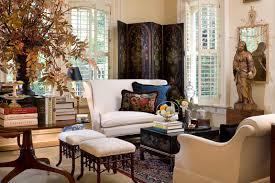 creative cream living room white sofa wooden table