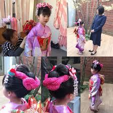Aki Hair 七五三7歳日本髪 とっても可愛かったです