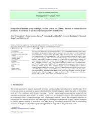 A few weeks ago the ndi feature in teams became available. Pdf Integration Of Nominal Group Technique Shainin System And Dmaic Methods To Reduce Defective Products A Case Study Of Tire Manufacturing Industry In Indonesia