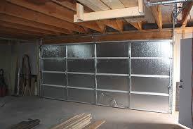 insulate a garage door diy garage door insulation the garage journal board
