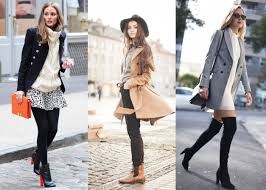 women wearing peacoat for winter in diffe ways
