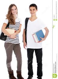 Teenage Boy Girl College Books Stock Images Download 935 Royalty
