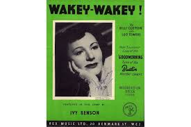 Wakey Wakey! As performed by Ivy Benson - Signed by her only £22.00