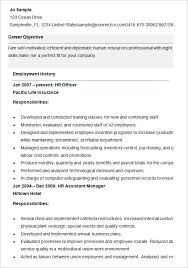 Sample Hr Resumes Best of Human Resource R Nice Human Resources Sample Resume Best Sample