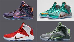 all lebron shoes 1 12. 3: nike lebron 12 all lebron shoes 1