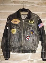 banana republic pilot leather flying jacket quality custom item made in usa