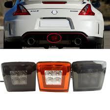 370z Nismo Bumper Lights Us 79 99 1pcs All In One Led Rear Fog Light Brake And Backup Reverse Light For 2009 14 Nissan 370z Led 4th Brake Light 12v Car Styling In Car Light
