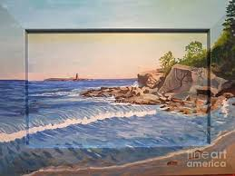 Biddeford Pool Tide Chart Amazing Lighthouse Maine Paintings Page 5 Of 12 Fine