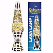 New Beatles Glitter Yellow Submarine Lava Lamp