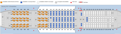 free printables united 757 200 seating chart large size
