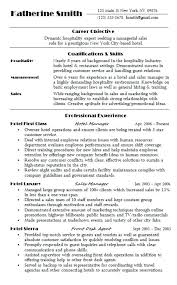 Example Hospitality Resume Cool Hotel Manager Template Job Description Example Resume Inside