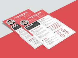Best Modern Clean Resume Design Free Clean Resume Template With Sharp Design