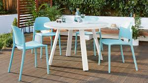 white table and chair set glass garden table set