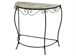 gorgeous half circle accent table furniture semi circle coffee sofa end tables affordable accent