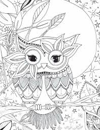 Small Picture Smartness Design Coloring Page Owl Brightbird Free Adult Coloring