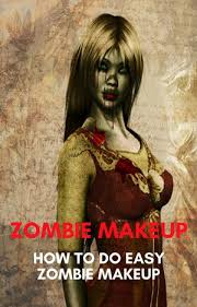 how to do easy zombie makeup