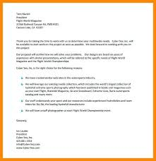 How To Write A Business Proposal Letter Tender Proposal Letter ...