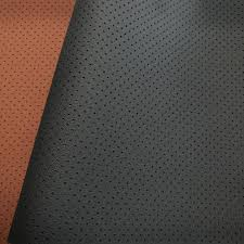 perforated leather fabric manufacturer