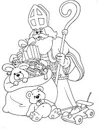 1001 Kleurplaten Sinterklaas Sint Kleurplaat Sinterklaas En Piet