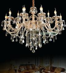 low chandelier bohemian crystal led lamps lights whole low chandeliers stylish crystal candle holder