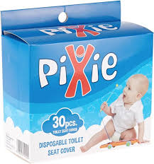 pixie pack of 30 piece disposable toilet seat cover