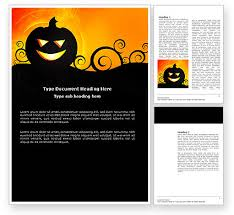 Word Halloween Templates Halloween Is Near Word Template 03967 Poweredtemplate Com