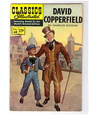 david copperfield golden age classics illustrated comics new listingclassics illustrated comic book 48 hrn 166 in vf david copperfield by dickens