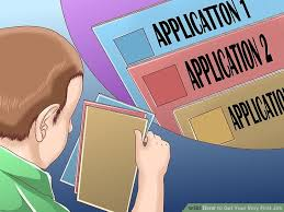 filling out applications how to get your very first job with pictures wikihow