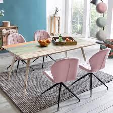 Finebuy Esstisch Mit 4 Stühlen Sv52158 Massivholz 175x76x85cm Shabby Chic Esszimmertisch Massiv Mit Esszimmerstühlen Design Küchentisch Set