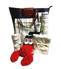 baby gift basket lil lobster travel bag set