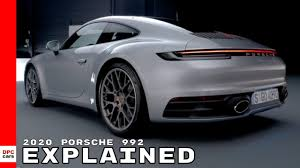 The fastest porsche 911 ever made | turbo s. 2020 Porsche 992 911 Explained Youtube