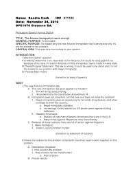 Example Of Persuasive Essay Outline Outline Examples For Essays