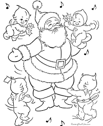 Santa coloring pages are a force for holiday spirit. Santa Claus Coloring Pages 026