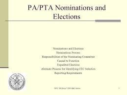Pta Elections Flyer