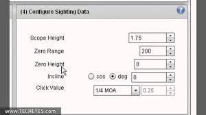 Bdc Reticle Ballistics Chart Vortex Lrbc Using The Online Vortex Long Range Ballistics Calculat Video